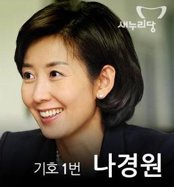 セヌリ党のナ・ギョンウォン議員