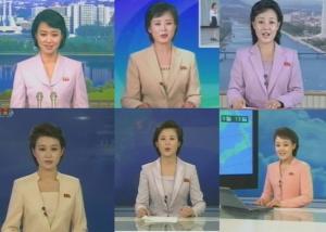 北朝鮮の女子アナウンサーたち