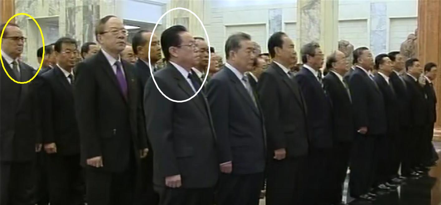 白い囲みの中の人物が金京玉氏、黄色い囲みの中が李洙墉氏(提供:李潤傑氏)