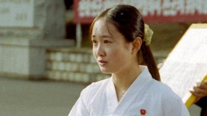 北朝鮮の女優パク・ミヒャン(映画「ある女学生の日記」)